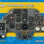 Eduard Bf110 cockpit panel