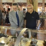 Puglisi e il Prefetto Sodano durante la visita