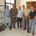 Foto di gruppo con Gen. C.A. Pino e Col. Annecchini