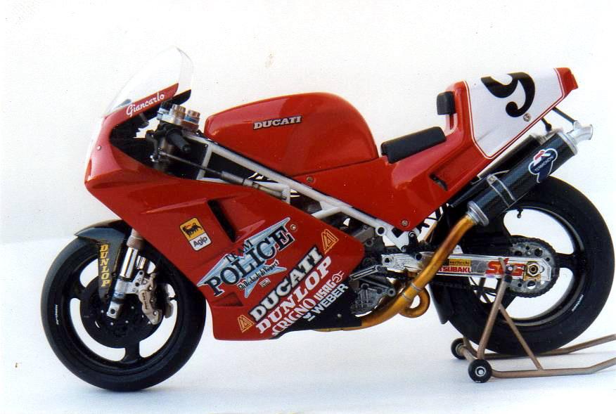 Ducati 888 di Gianni Besenzon