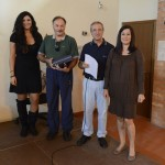 """Elga Guarnieri premia il vincitore del """"Trofeo Aldo Guarnieri"""""""