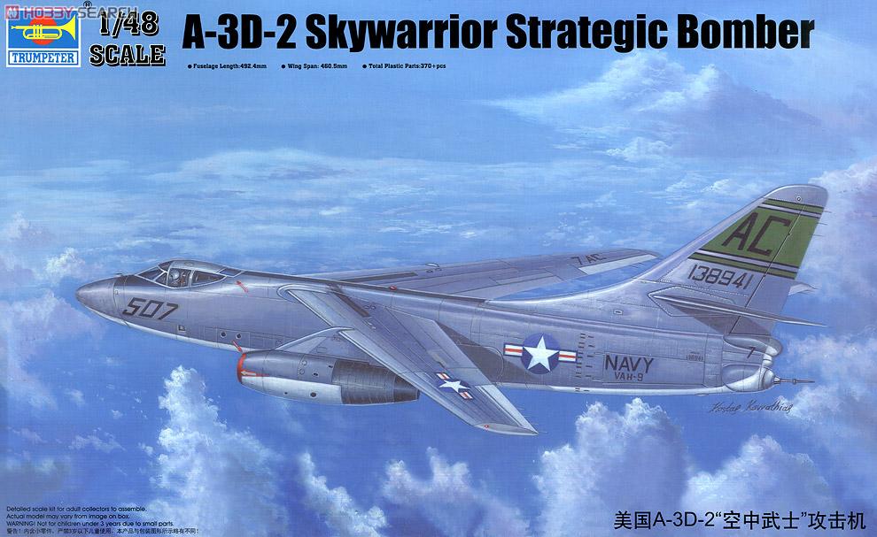 Douglas A 3D Skywarrior